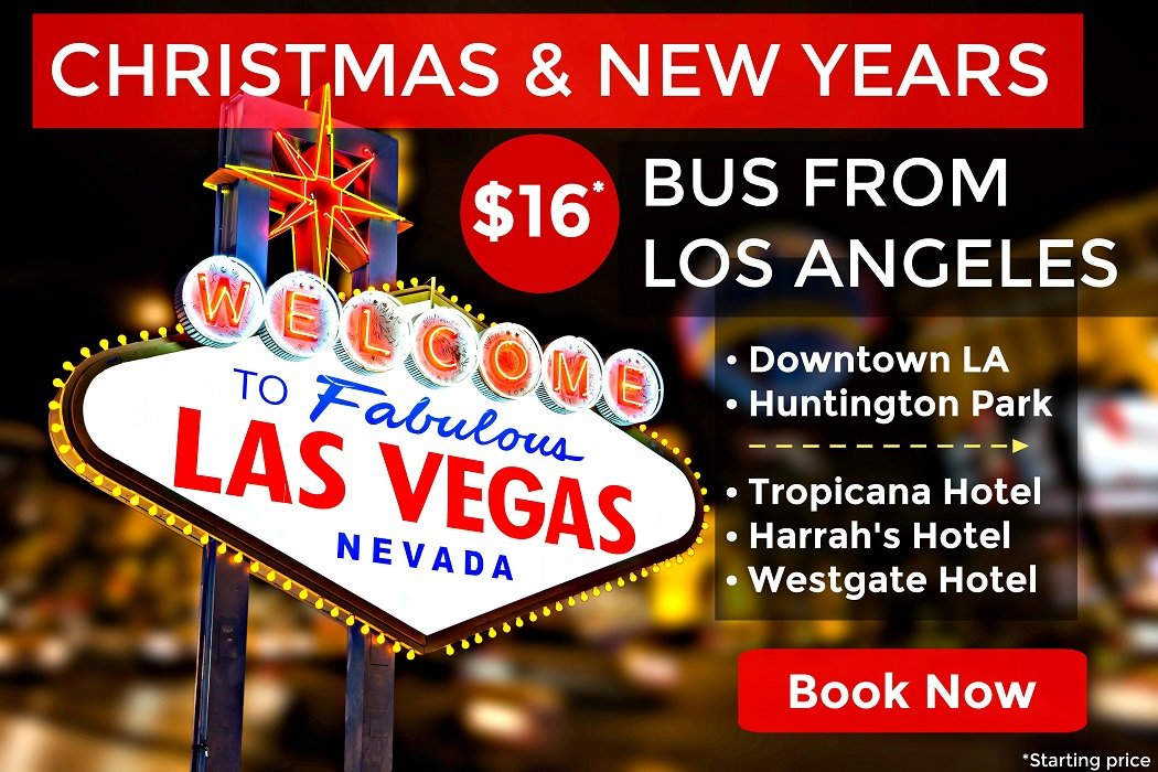 Bus from Los Angeles to Las Vegas