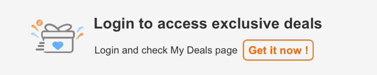 Login to access exclusive deals