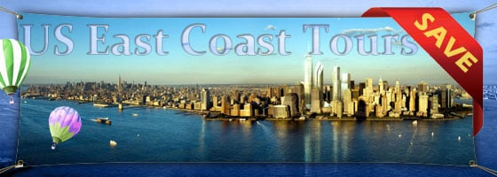East Coast Tours including Woodbury Outlets Shopping