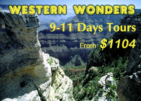 Western Wonders 9-11 Days Tours