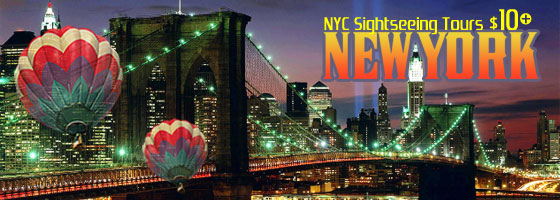 New York City Sightseeing Tours from $10!