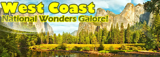 West Coast Vacations $208+