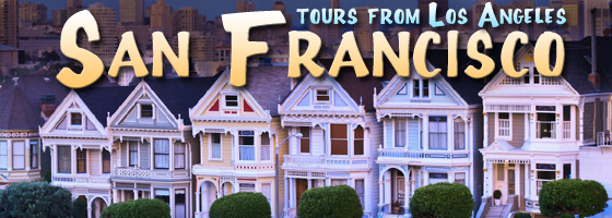 3-4 Day Tours to San Francisco starting at only $125!