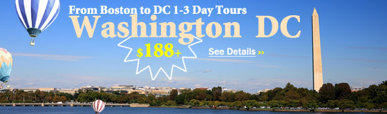 Milford to Washington DC 3-Day Tours