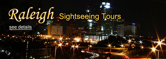 Find Raleigh Sightseeing Tours