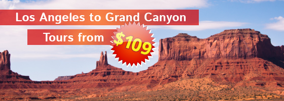 LA to Grand Canyon 3 Days Tours from $109