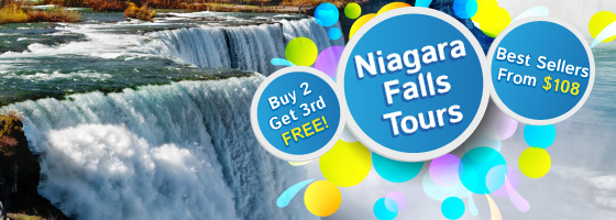 2-3 Day Bus Tours to Niagara Falls from New York