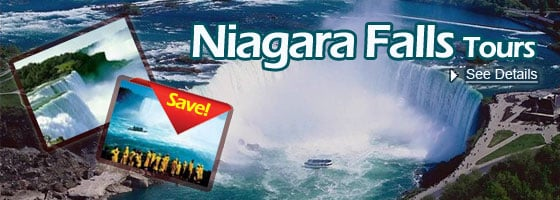 Boston/Charlton to Niagara Falls 2/3-Day Tours