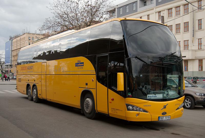 Student agency bus prague to munich